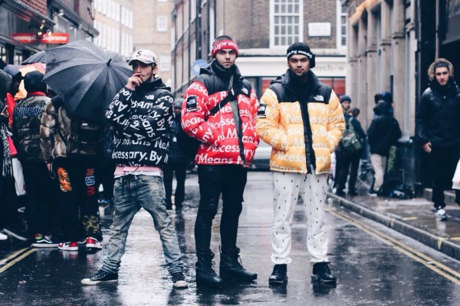 My thoughts on the FW15 Supreme X TNFcollaboration.