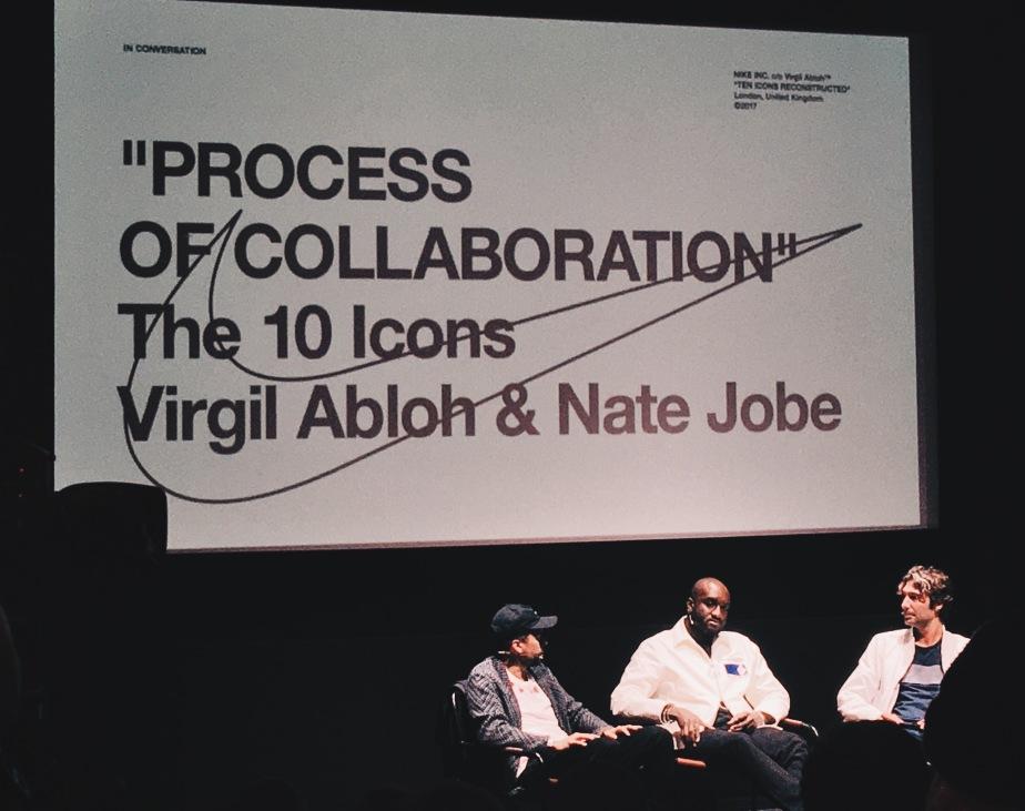 Virgil Abloh's Nike