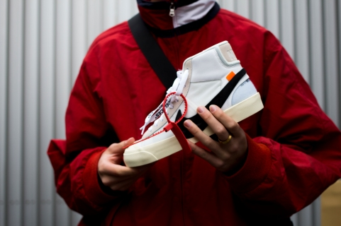 Nike Blazer x Off White
