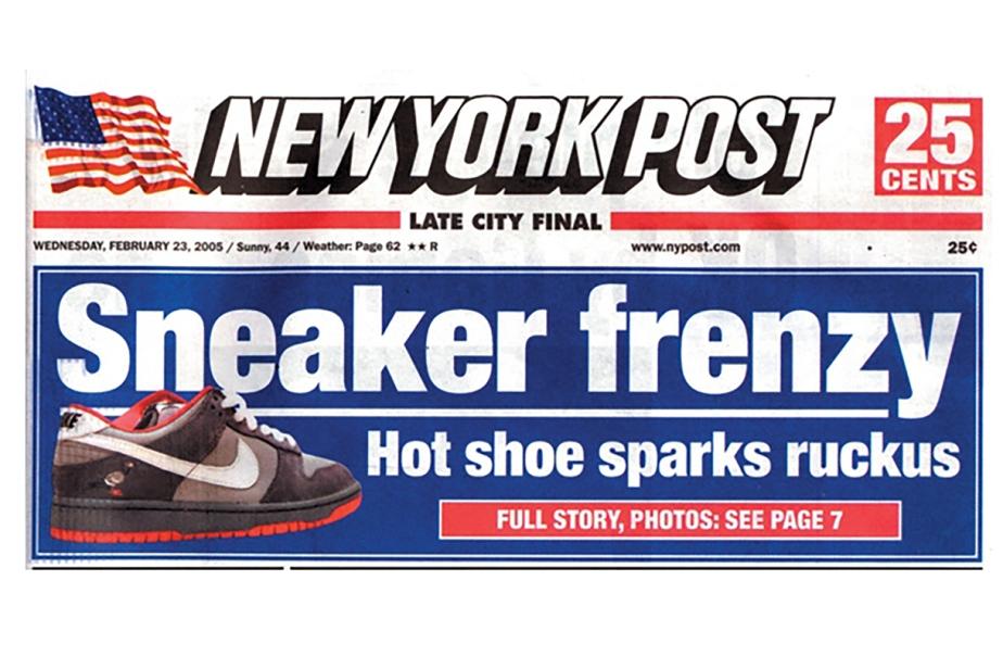 Modern sneaker-culture's brashbirth
