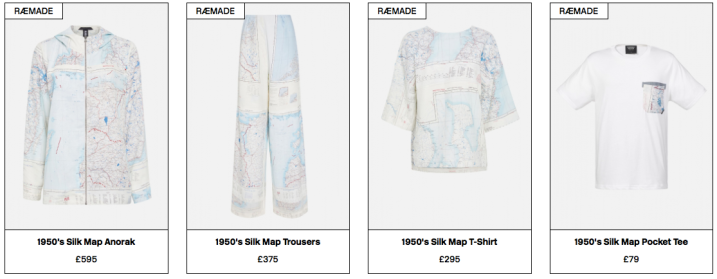 The complete Silk Map collection.