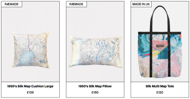 The collection also features UK-made product.
